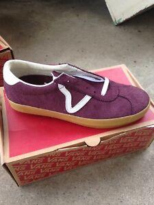 c3b593d2a801d7 vans epoch sport pro G grape gum mens size 9 vans skate shoe new in ...