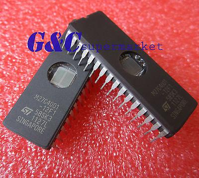 10PCS M27C4001-12F1 27C4001  ST IC EPROM UV 4MBIT 100NS 32CDIP NEW GOOD QUALITY