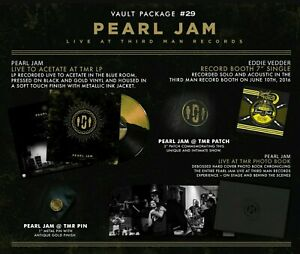 Pearl-Jam-Live-Third-Man-Records-Vault-Package-29-NEW-w-MAILER-Jack-White