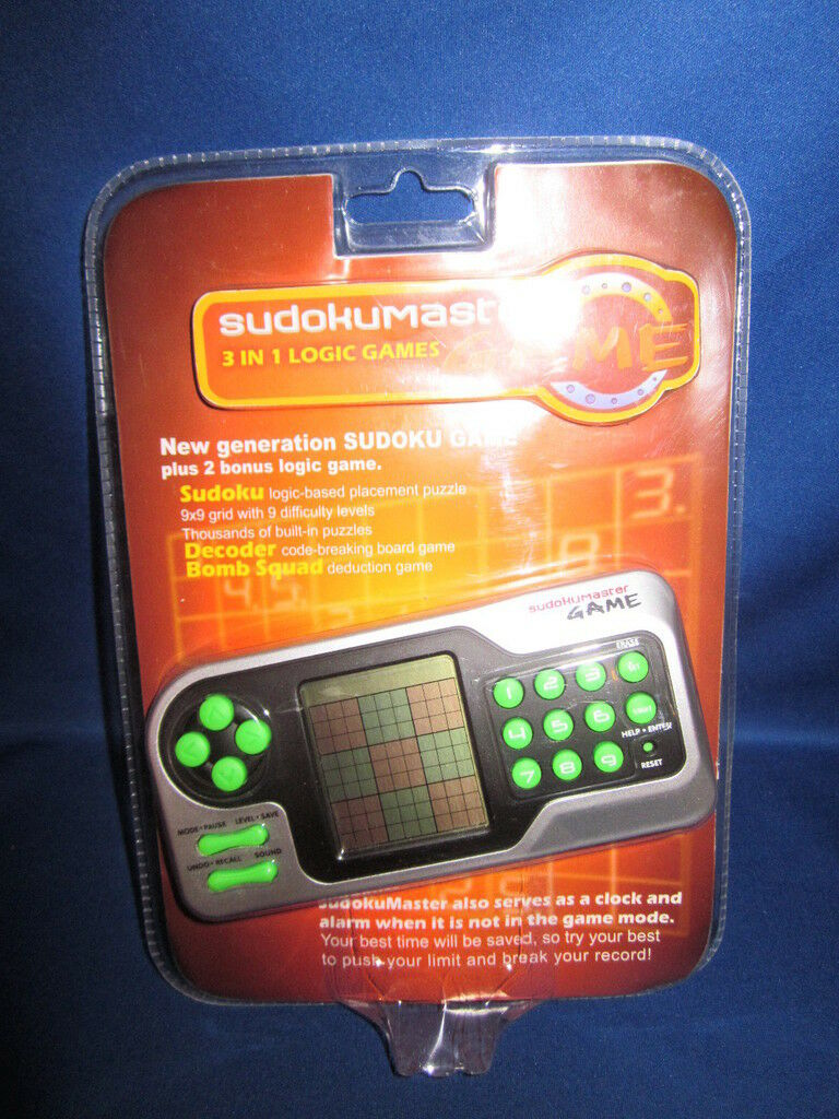 Matscot Sudoku Game Item No 42110 Sudoku Master Game
