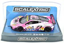 Scalextric C3849 McLaren 12c Gt3 Pacific Racing Slot Car 1/32