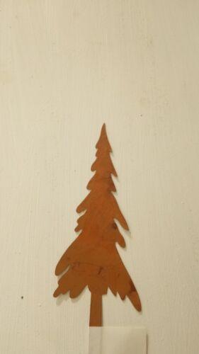 Nobile Ruggine ALBERO DI NATALE ABETE ALBERO orti spina Ruggine Decorazione 20cm Landhaus Christmas