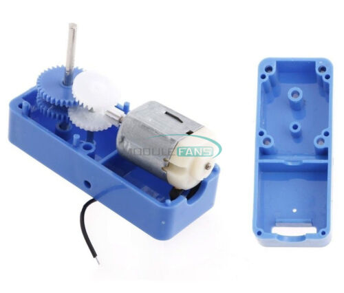 130 DC 1.5-6V 1:94 Geared Motor //w Box shell Case for Smart Robot Car DIY