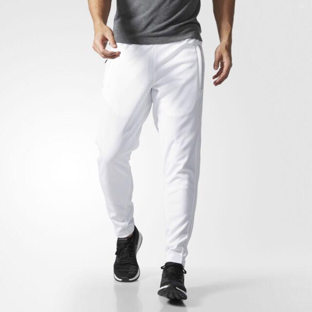 Adidas Pantalone Tuta ZNE Bianco White Uomo