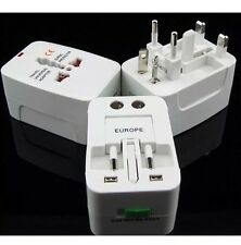 Universal International World Wide Multi Travel Plug Charger Adapter UK 3 Pin EU