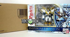 "In STOCK Bandai Digimon Figuarts ""Imperialdramon Paladin Mode"" Action Figure"