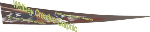 Montana  Graphic Flair decal for RV