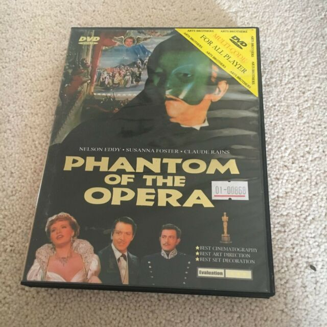 PHANTOM OF THE OPERA DVD.