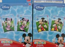 Brassards piscine bain Mickey ou Minie Dysney Club House enfant de 3 a 6 ans