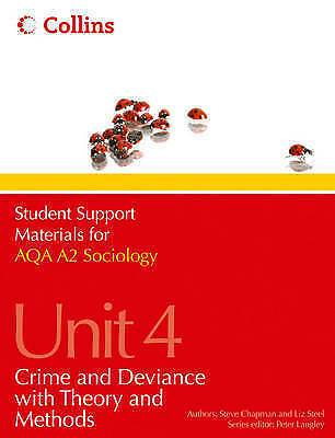 1 of 1 - Student Support Materials for Sociology: AQA A2 Sociology Unit 4: Crime and...