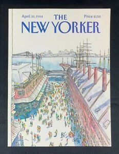 COVER-ONLY-The-New-Yorker-Magazine-April-30-1984-Arthur-Getz