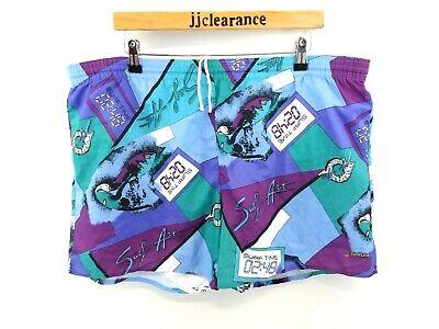Gut Ausgebildete Crazy Pattern Sunflair Mens Surfing Swim Shorts Xl W40 L4 Blue Purple Polyester Wasserdicht, StoßFest Und Antimagnetisch