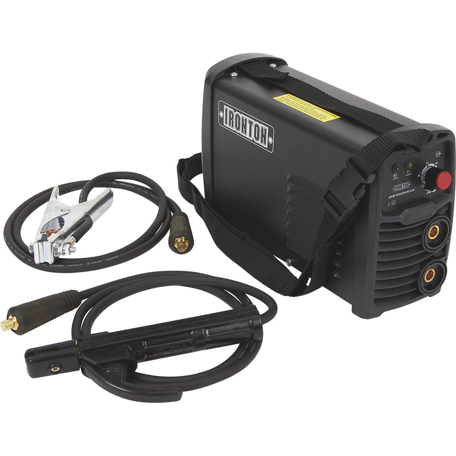 Ironton ARC80 Stick Welder w/ TIG funct — Inverter, 120 Volt, 20–80 Amp Output. Buy it now for 89.99