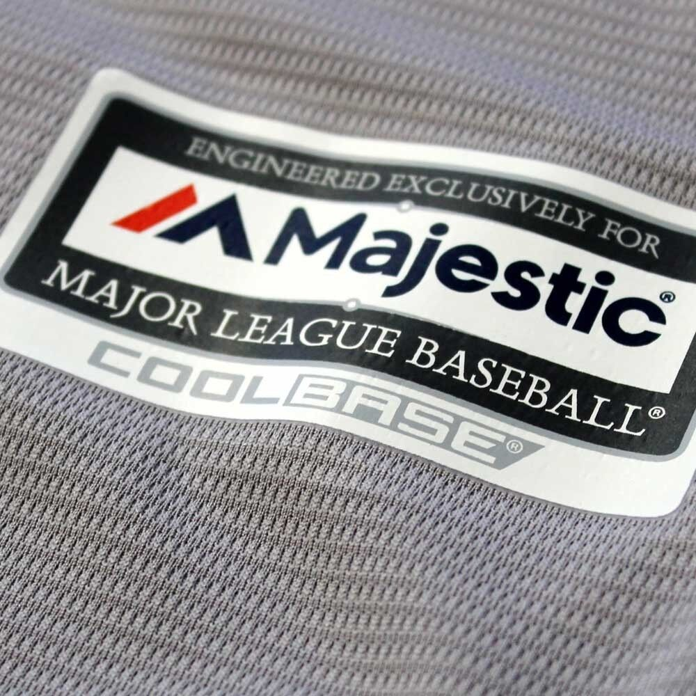 MLB Baseball Trikot Houston Astros grau Road Cool base base base Majestic Jersey 79c2d7