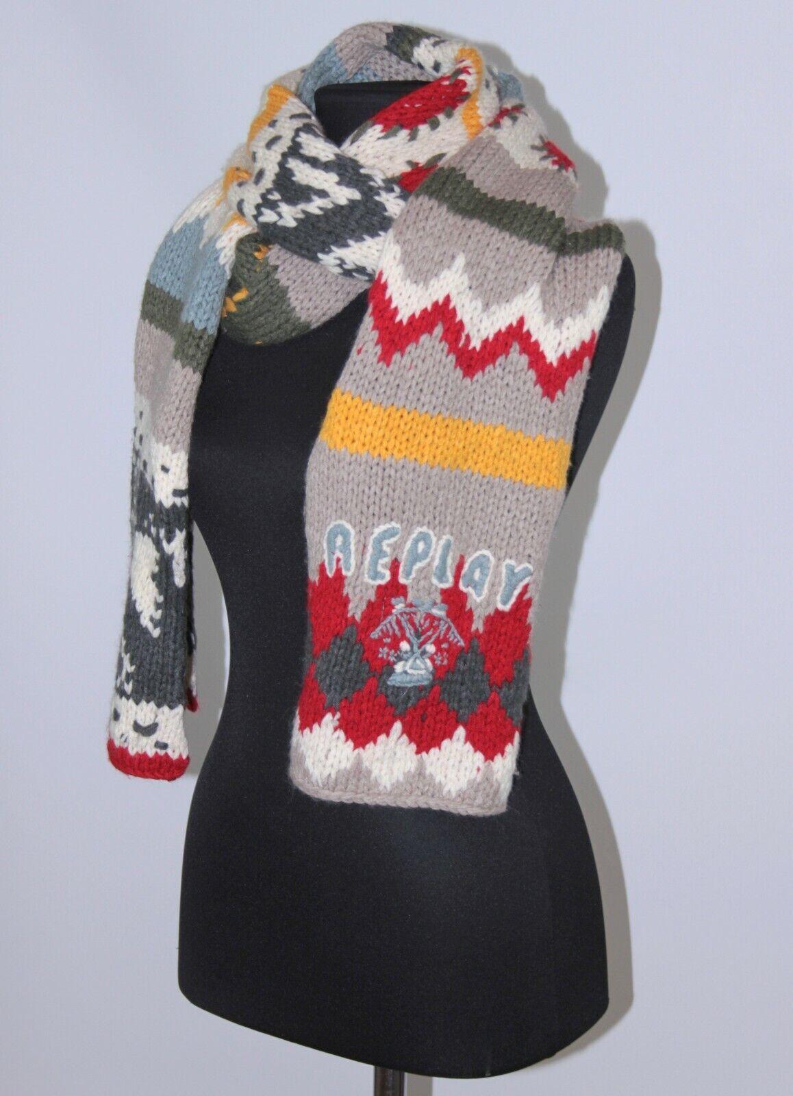 Replay Bufanda Para mujeres lana mezcla 266x25
