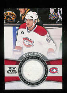 super popular aaee0 73ca3 Details about 2015-16 UPPER DECK UD GAME JERSEYS MAX PACIORETTY JERSEY  MONTREAL CANADIANS