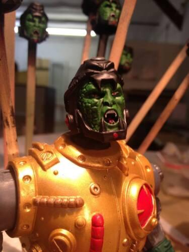 MOTUC Custom Snake Blast Attack Head MotuC Heads Dark Dimensions Studio
