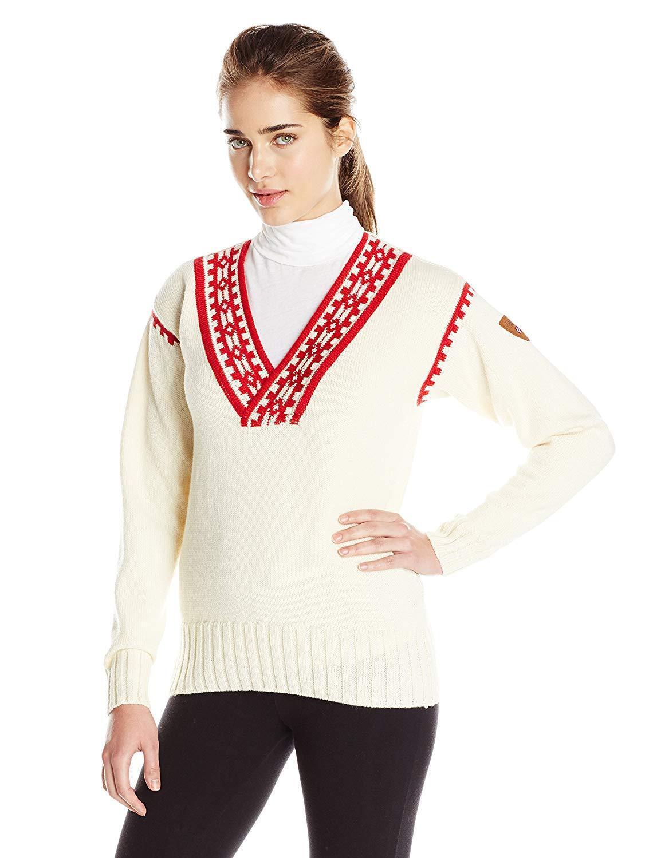 Dale Dale Dale of Norway Women's Alpina Feminine Sweater (L) 9f6f60