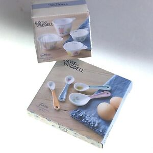 Measuring-Cups-Set-Of-4-amp-Measuring-Spoons-Set-Of-4-High-Quality-Porcelain