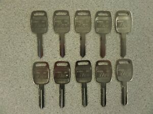 Details about KENWORTH TRUCK KEY BLANKS ILCO K1994 B87 10 PACK