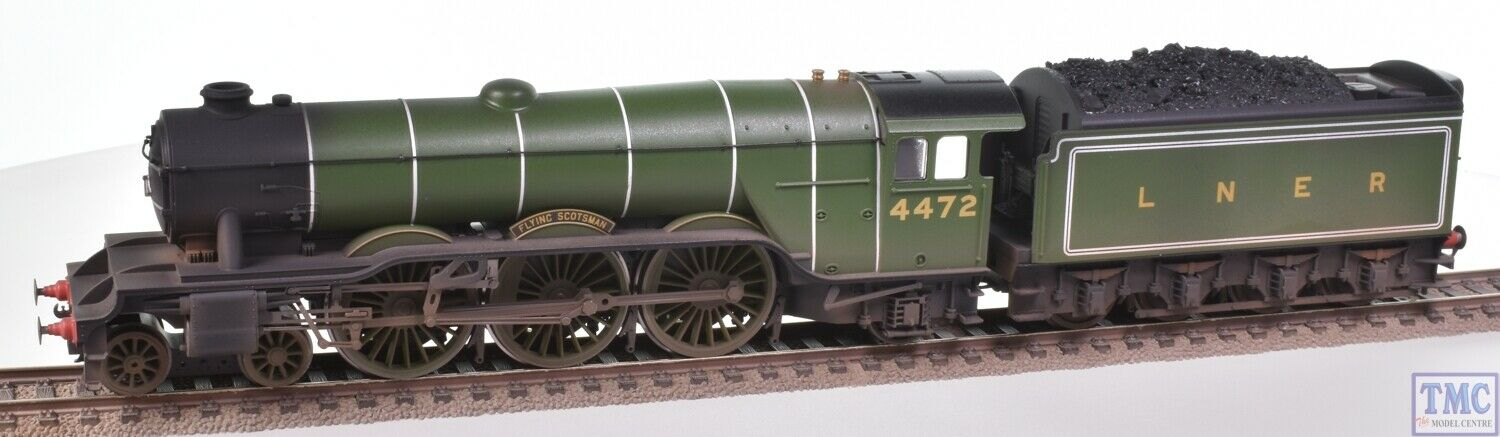 R3086 Hornby Railway Oo lner A1 4472 Air Scottish (era 3) Coal and Winding