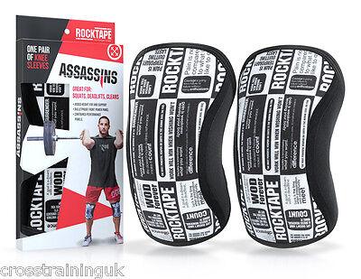 Intenzionale Rocktape Assassini Manifesto Maniche Ginocchio Supporto 5mm Sollevamento Pesi Crossfit- Possedere Sapori Cinesi