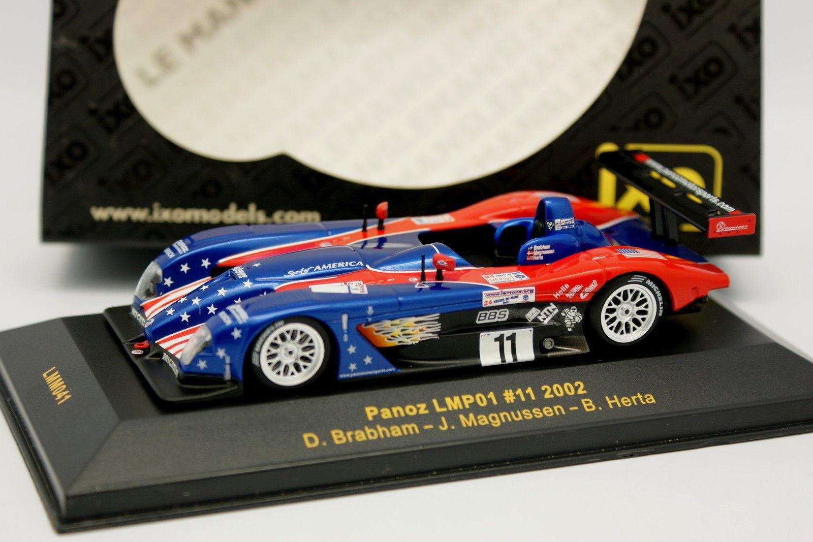 Ixo 1 43 - Panoz LMP01 N°11 Le Mans 2002