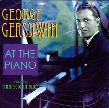 GEORGE GERSHWIN - AT THE PIANO (NEW SEALED CD)