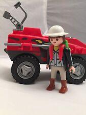 Playmobil RETIRED Amphibious Transport Jeep Explorer Set 3216/5747 HTF LOT
