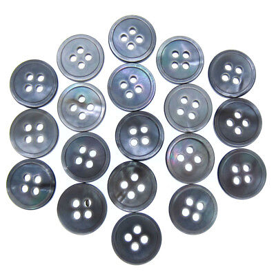 """Free 3//8/"""" 1//2/"""" 5//8/"""" Natural Shell Mother of Pearl Buttons Sewing Shell Buttons"""