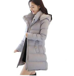 e1ed1a3bfe0f3 Women s Add Thick Warm Hooded Parka Outwear Overcoat Long Jacket ...