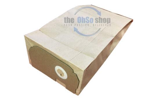 Z4670 Z4622 10x Electrolux Aspirapolvere Borsa E50 E60 /& E60n tipo per adattarsi Z1492