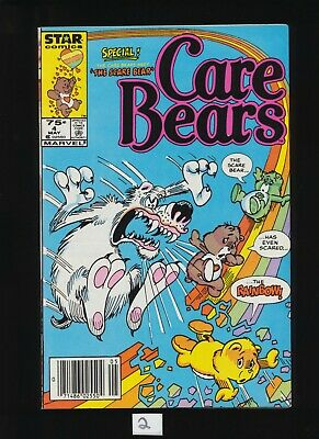 SEE SCANS May 1986 UNCIRCULATED // UNREAD! Care Bears #4 Star Comics Volume 1