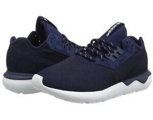 New Trainers Runner Running B25596 Uk 8 Navy 1 Weave Co Mens 2 Adidas tubolare rnYx0WrCR