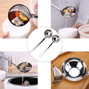 Am-KF-Spoon-Stainless-Steel-Kitchen-Long-Handle-Detachable-Colander-Strainer