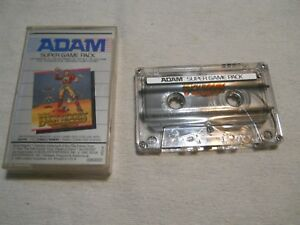 Cassette-Adam-Super-Game-Pack-Buck-Rogers-Planet-of-Zoom-Sega-1983