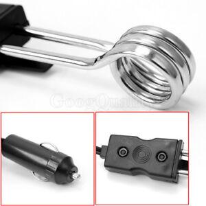 1x 12v 120w Car Auto Cup Mug Water Heater Element Kettle