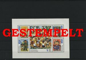 Germany-GDR-vintage-yearset-1974-Mi-1991-1994-Sheetlet-Postmarked-Used