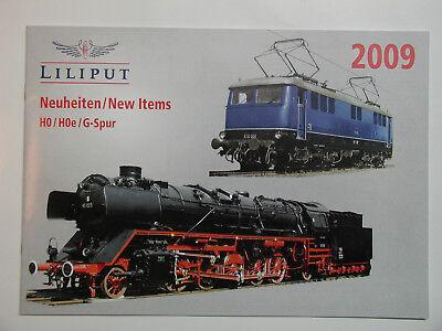 Amichevole Liliput Novità 2009 Catalogo Con 32 Pagine Per Pcs, Hoe, S-traccia Nuovo Raro-mostra Il Titolo Originale