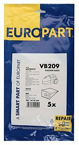 5 x Vacuum Cleaner Hoover Dust Bags Electrolux Mondo Boss Elite E51
