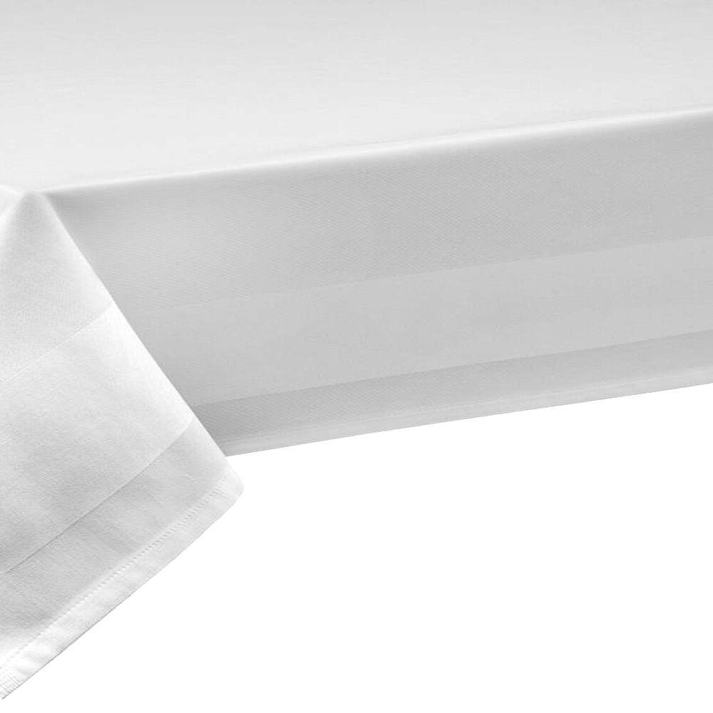 100% Cotone a a a metraggio damasco bianco larghezza 140 cm di lunghezza selezionabile TOVAGLIA 8d0fca