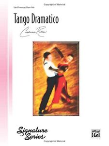 """tango Dramatico"" Late Intermediate Piano Solo Sheet Music-catherine Rollin-new! Couleur Rapide"