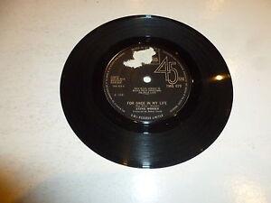 STEVIE-WONDER-For-Once-In-My-Life-Scarce-original-1968-UK-7-034-Vinyl-SIngle