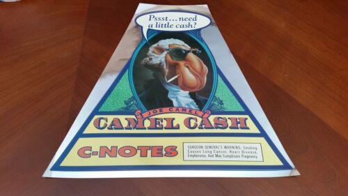 Brand New! Camel Joe Camel Cash C-Notes Sticker Rare