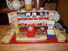 épicerie ancienne années 50 jouet ancien pour poupée avec caisse, balance Géobra