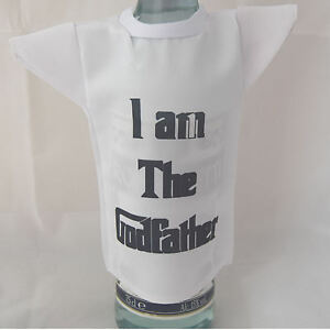 Bottle-miniature-T-Shirt-for-godfather-ideal-fun-christening-gift