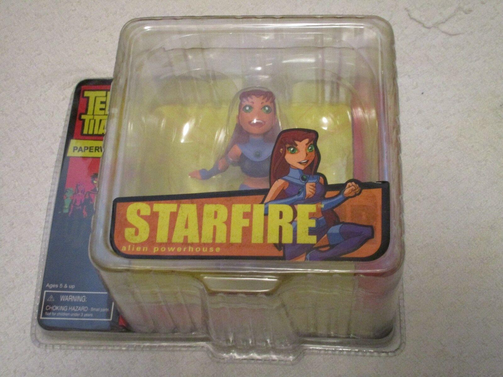 Monogram Masterworks Teen Titans Pisapapeles Mini Busto Estrellafire Alien Potencia
