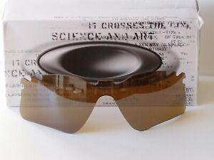 Oakley-Radar-Range-Vented-Tungsten-Iridium-lens-New-in-box