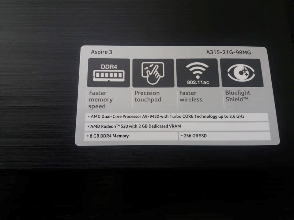 Acer Aspire 3, Perfekt