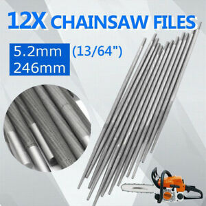 3x4mm Round Chainsaw Saw Sharpening Files Sharpener 3//8/'/' Chain Fit for Woodwork
